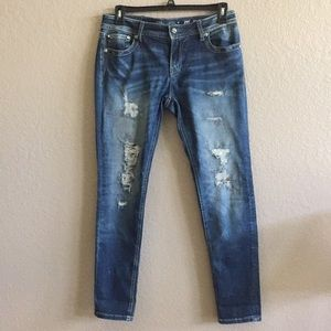 Size 31 Miss Me skinny jeans